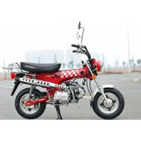Buy cheap 4 - Stroke 110CC Motor Street Bike 4 Gear Transmission Long Service Life from wholesalers