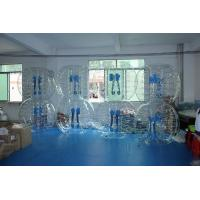 Buy cheap Transparent inflatable bubble soccer bubble football suits for soccer club from wholesalers