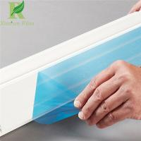Buy cheap 0.02-0.20mm Customized Blue Anti-Scratch Plastic Panel Protective Film from wholesalers