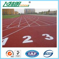 Elastic Running Track Surfaces PU Rubber Floor Covering Anti Slip Polyurethaning Floors