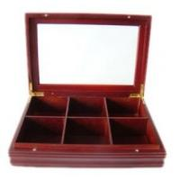 Buy cheap wooden gift tea box from wholesalers