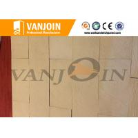 Buy cheap Anti Cracking Decorative Stone Breathable Green Soft Ceramic Wall Tile Excellent Flexibility from wholesalers