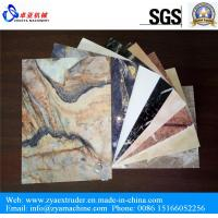 Buy cheap UV Laminated PVC Marble Board Production Line from wholesalers