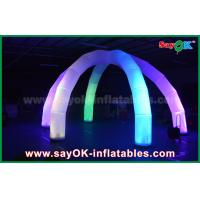 Buy cheap DIA 5m LED Light Archway Inflatable Arch With 6 Legs Multicolor Nylon Cloth from wholesalers
