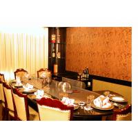 Buy cheap Pipeline Natural Gas Oval Shape Teppanyaki Grill Table Ten Seats from wholesalers