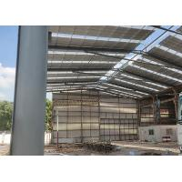 Buy cheap Big Span Prefab Metal Buildings , Steel Structure Garage Beautiful Appearance from wholesalers