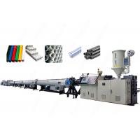 Buy cheap High Capacity Control Extrusion Pvc Pipe Manufacturing Equipment With Twin Screw from wholesalers