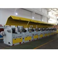 Buy cheap Straight Line Medium Wire Drawing Machine , 4 - 6.5 Mm Aluminium Wire Drawing Machine from wholesalers