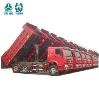 Buy cheap Red 10 Tires Mining Dump Truck 18 Cubic Meters 30 Ton Long Service Life from wholesalers