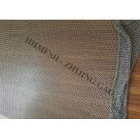 Buy cheap Stainless Steel Ring Mesh Curtains , Metal Mesh Drapery For Space Divider product