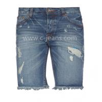 China Factory Direct Price Jeans Men's Short Jeans on sale