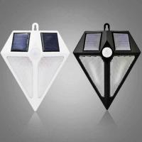 Buy cheap Diamond Shape Solar Outdoor Wall 6 LED Light IP65 Water Proof Resistance PIR Motion Sensor 3 Modes Lights from wholesalers