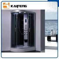 Tempered Glass Jet Quadrant Shower Cabin , Large Corner Shower Enclosures