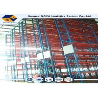 Buy cheap Convenient Pick Up Cargos Warehousing Racking System , Steel Racks For Warehouse from wholesalers