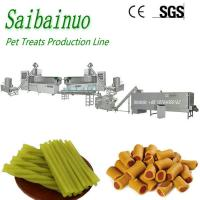 Buy cheap Animal Dog Chews Pet treats machine manufacturing plant made in China from wholesalers
