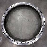 Buy cheap Slewing Bearing Hyundai Excavator Parts R320LC-7 from wholesalers