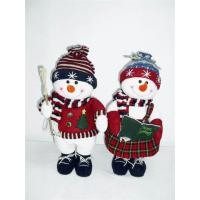 Buy cheap 7Inch, 10Inch,12Inch Toddler Electronic Toys of Snowman Couples for Festival Decor from wholesalers