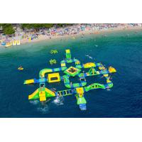 Buy cheap Customized Big Inflatable Water Park ,  Large Aque Park , Wibit Sport 95 Part For Adult from wholesalers