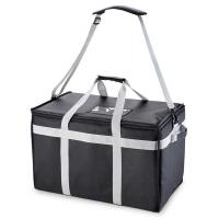 Buy cheap Food Delivery Insulated Food Carrier Bag / Drink Cooler Bag With Adjustable Divider from wholesalers