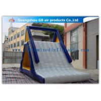 Buy cheap Customized Adults / Kids Inflatable Water Slide Floating Sports Game product