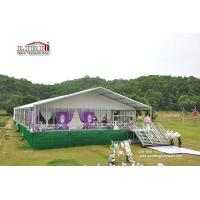 Buy cheap 500 People Luxury Wedding Tents with Roof Lining and Curtains for Weddings and Parties from wholesalers