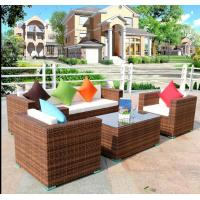 Buy cheap Hot Patio sofa sets design Outdoor garden PE Rattan wicker Furniture product
