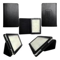 Buy cheap OEM / Customizable Black PU Leather Amazon Kindle Fire Ereader Covers Cases from wholesalers