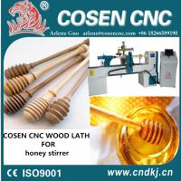 Buy cheap Top quality ce certification cnc woodworking lathe for wood honey stirrer honey bar from wholesalers