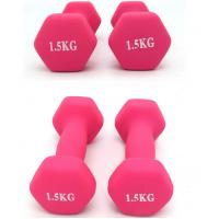 Buy cheap Women Fitness Aerobic Exercise dumbbell charm Dumbbells Gym Neoprene Iron Dumbbells from wholesalers