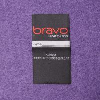 Buy cheap Sew On Cloth Woven Apparel Labels In Custom Design Center Fold from wholesalers