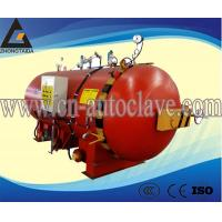 Buy cheap Guankou sealing method is the inflatable silicone rubber roller autoclave vulcnization automatic horizontal autoclave from wholesalers