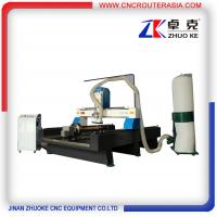 Buy cheap ZKM-1325B 4*8 feet mesa sink Wood Engraving Machine with stainless steel water slot from wholesalers