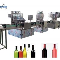 Buy cheap Alcohol Carbonated Drink Filling Machine Line For Vodka Whisky GIN Sealing from wholesalers