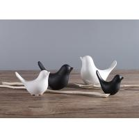 Buy cheap Hotel Or House Decoration Poly Resin Birds Models / Lovely Animals Ornaments product