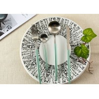 Buy cheap Electroplated 304 Stainless Steel Flatware Set 4pcs from wholesalers