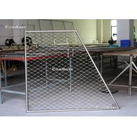 Buy cheap Flexible Stainless Steel Cable Mesh Panels For Balustrade Railing from wholesalers