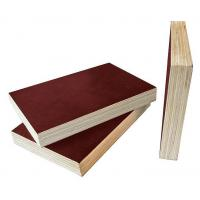 Buy cheap Brown Film Faced Plywood 8 - 12% Moisture Content Easy Work International Quality from wholesalers