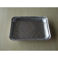 Buy cheap SGS Convenient Aluminum Foil Baking Pans Carry-Out For Food Packing from wholesalers