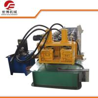 Buy cheap Hydraulic cutting Steel Profile Metal C Purlins Roll forming Machine with two models from wholesalers