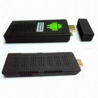 Buy cheap RK3066 dual core TV box, mini PC, Android 4.1, DDR 3 1GB RAMs, 1 year warranty from wholesalers