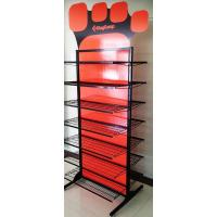 Buy cheap Professional Double Sided Metal Floor Display Stands for Clothes / Shoes from wholesalers