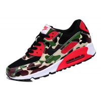 Buy cheap Sell authentic Nike AIR MAX 90 couples running shoes Camouflage green men's women's shoes from wholesalers
