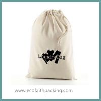 Buy cheap Customized Large Capacity Cotton Laundry Bag, canvas laundry bag from wholesalers