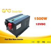 China Low Frequency Off Grid UPS Grid Tie Solar Inverter 1500w 12v/24vdc To 220vac on sale