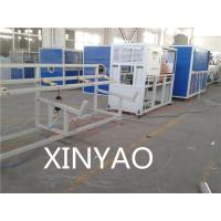 Buy cheap Full Automatic PE Pipe Extrusion Line 20 - 63mm, Single screw extruder from wholesalers