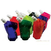 China Foldable Water Bag Stand Up Pouch With Spout For Juice , Oil , Gel , Liquid on sale