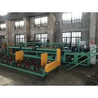 Buy cheap 3m width Single Wire Fully Automatic Chain Link Fence Making Machine to Kenya market from wholesalers