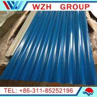 Buy cheap metal roofing sheet / color steel sheet corrugated 850mm roof tile from wholesalers