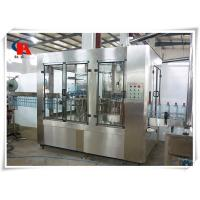 Buy cheap Small Juice Automatic Liquid Filling Machine 380V 50Hz CIP Self Cleaning Interface from wholesalers