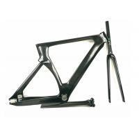 Matte / Shiny 1400G 700C Carbon Track Bike Frame Aero Type T700 UD Weave